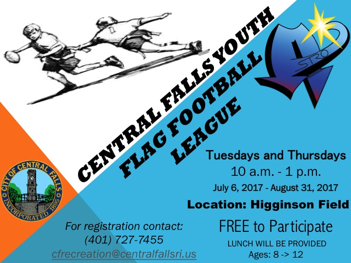 Central Falls Youth Flag Football League